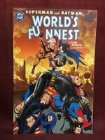 Superman and Batman World's Funnest Evan Dorkin and Friends DC Comics