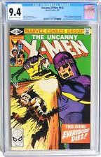"D465. UNCANNY X-MEN #142 Marvel CGC 9.4 NM (1981) ""DAYS OF FUTURE PAST"" Part 2"