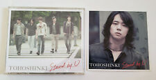 TVXQ DBSK Tohoshinki Stand By U Japan Press CD + Micky Photocard