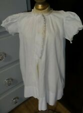 """Antique! Sweet Baby Doll Dress Gown with Embroidered I""""m A Good Girl 18 Months"""