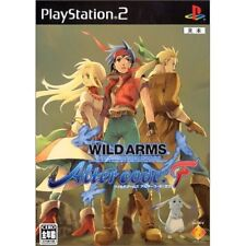Used PS2 Wild Arms: Alter Code F Japan Import