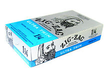 Zig Zag Cigarette Rolling Papers 24 Packs BOX 32 Papers Pack Ultra Thin 1 1/4