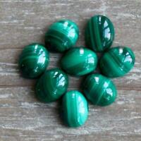 Lot Of 10x12mm To 18x25mm Oval Cabochon- AAA Natural Malachite Loose Gemstone