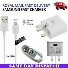 Fast Charger Plug & USB Data Cable For Samsung Galaxy Tab A A6 10.1 2016