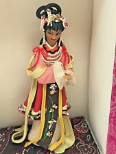 New ListingMiniature Asian Chinese Thailand Doll Geisha in Costume - Pink Box - Trinket