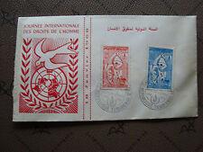TUNISIE - enveloppe 1968 (cy80) tunisia