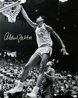 Kareem Abdul-Jabbar Signed Autographed 16X20 Photo B/W UCLA Bruins Dunk OA