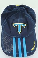 GOLD COAST TITANS SIGNED SUPPORTERS CAP WITH FOUNDATION MEMBER PATCH.