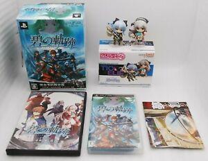 PSP The Legend Of Heroes Ao no Kiseki Limited Edition w/ Drama CD & Figure Japan