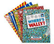 Where's Wally Collection Set 5 by Martin Handford Large Paperbacks Books 1-5 New