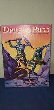 Dragon Pass Fantasy RPG Gloranthan Warfare Game Avalon Hill. 1984. Rare Game.