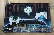 Original VTG 1998 BIG PUNISHER CAPITAL PUNISHMENT ALBUM Promo Poster Rap Hip-Hop