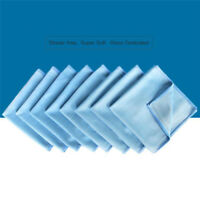 Car Cleaning Microfiber Glass Towel Cloth Wash Window Polishing Absorbentv!