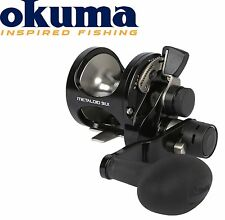 Okuma Metaloid M-5IILX 4bb 2 Speed Left Hand Multirolle Linkshand, Meeresrolle