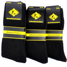 30 Paar Arbeitssocken Socken 43 44 45 46 SCHWARZ Herrensocken Herren Strümpfe