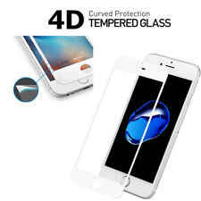 NEW 4D Full Cover Tempered Glass Curved Screen Protector Film For iPhone 7/8