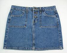 Mossimo Denim Mini Skirt Blue Women's Size 11