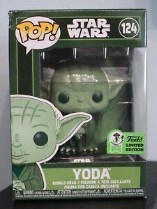 Funko Pop! - Yoda 124 - Star Wars - Emerald City Comic Con Event Sticker [1]