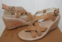 UGG Gaiana Chestnut suede wedges New With Box!