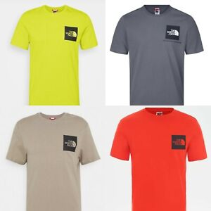 Men's The North Face TNF Short Sleeve Tee Cotton T Shirt ALL SIZES