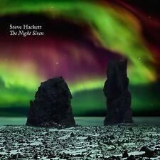 STEVE HACKETT of GENESIS  New Sealed NIGHT SIREN BLU RAY & CD SET