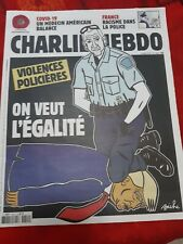 CHARLIE HEBDO 03/06/2020 - No 1454 - Couverture.BICHE Violences policieres- NEUF