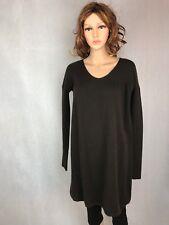 Vince 100% Cashmere Women's Medium Sweater Dress Brown Career Formal