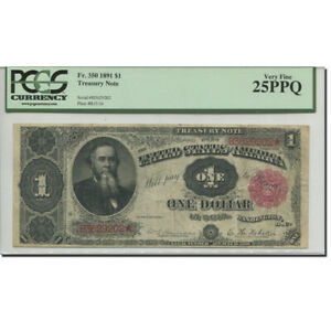[#278936] Banknote, United States, One Dollar, 1891, 1891, KM:58, graded, PCGS