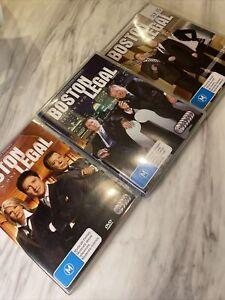 Boston Legal : Season 1-3 DVD