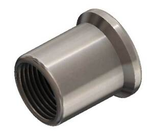 """1"""" -14 RIGHT HAND THREAD TUBE INSERT FOR 1 1/4 INCH ID TUBING"""