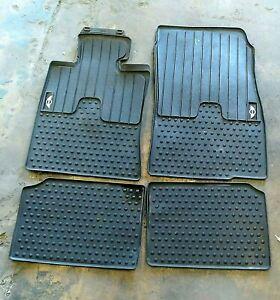 2014-2019 Genuine OEM MINI Cooper F56 F57 2-Door All Weather Rubber Floor Mats