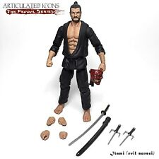 "IES: Fwoosh Articulated Icons Feudal Series Itami (Evil Sensei) 6"" figure"