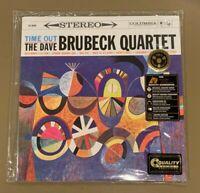 Dave Brubeck Quartet TIME OUT Audiophile 200g 45rpm 2LP Analogue Productions NEW