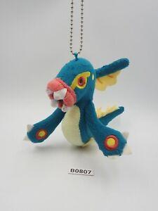 "Eelektross Pokemon B0807 Banpresto 2013 Keychain Mascot Plush 5"" Toy Doll Japan"