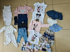 Bundle Of Baby Girls Clothes Age 3-12 Months