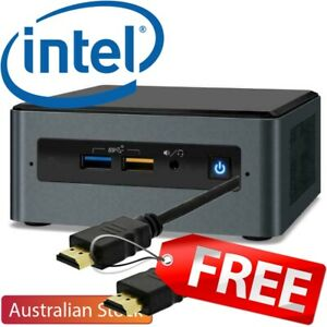 Intel NUC Bean Canyon i3 8109U Mini Desktop PC Kit M.2 2280 Slot + HDMI Cable
