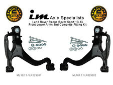 Range Rover Sport 10-13 Front Lower Arms, Pair (wishbone) inc Fitting kits