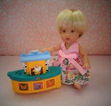 Mini Fisher Price Noah's Ark for Ellery Kish or 5-8� baby doll - Damaged box
