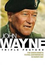John Wayne - The Green Berets / Flying Leathernecks / In Harms Way - New