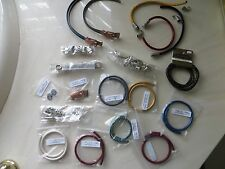 Bulk Lot Leather Jewelry Bands and Metal Beads Jewelry Making