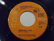 Elvis Presley Burning Love / It's A Matter Of Time 45 1972 RCA Vinyl Record