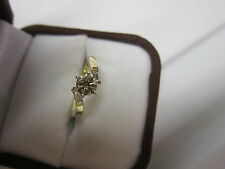 GORGEOUS ESTATE 14 KT GOLD .60 CTW FANCY CHAMPAGNE DIAMOND RING !!!!!