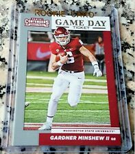 GARDNER MINSHEW II 2019 Draft Picks Rookie Card RC Logo Jacksonville Jaguars $$$