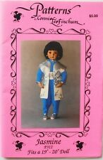 """Connie Lee Finchum P312 Jasmine 19""""-20"""" Doll Clothes Sewing Pattern"""