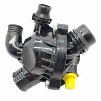 Engine Cooling Thermostat Assembly for 2011-2015 BMW X1 X5 X6 135i 335i 3.0L L6