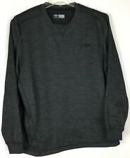 Mens Callaway Golf Pullover Large Long Sleeve crew Polyester