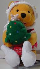 Japan Disney Store~Xmas Pooh w/ Light Up Tree