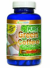 Green Coffee Bean Extract Pure 800mg w/ SVETOL Chlorogenic Acid Weight Loss GCA