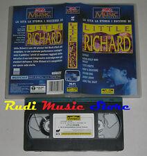 VHS LITTLE RICHARD Vita storia successi 1992 ITALY UNIVIDEO no cd mc dvd lp(VM5)