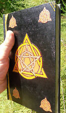 GRIMOIRE DE LUXE 220 PAGES OU LIVRE DES OMBRES FAIT  MAIN ESOTERISME MAGIE